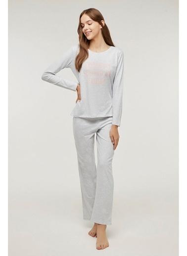 Penti Base Frıday Pijama Takımı Gri